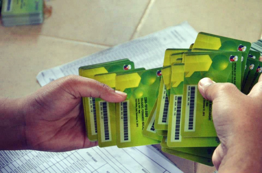 PhilHealth Cards for distribution for Ibaan beneficiaries.