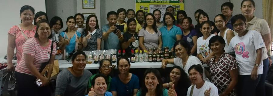 coco processing seminar ibaan agriculture office ethel salazar mayor danny toreja